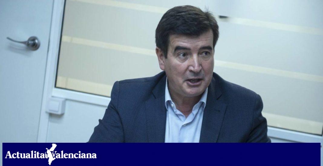 Fernando Giner, candidat de Cs a l'alcaldia de València.