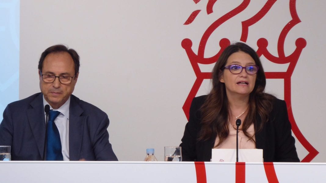 Vicent Soler i Mónica Oltra