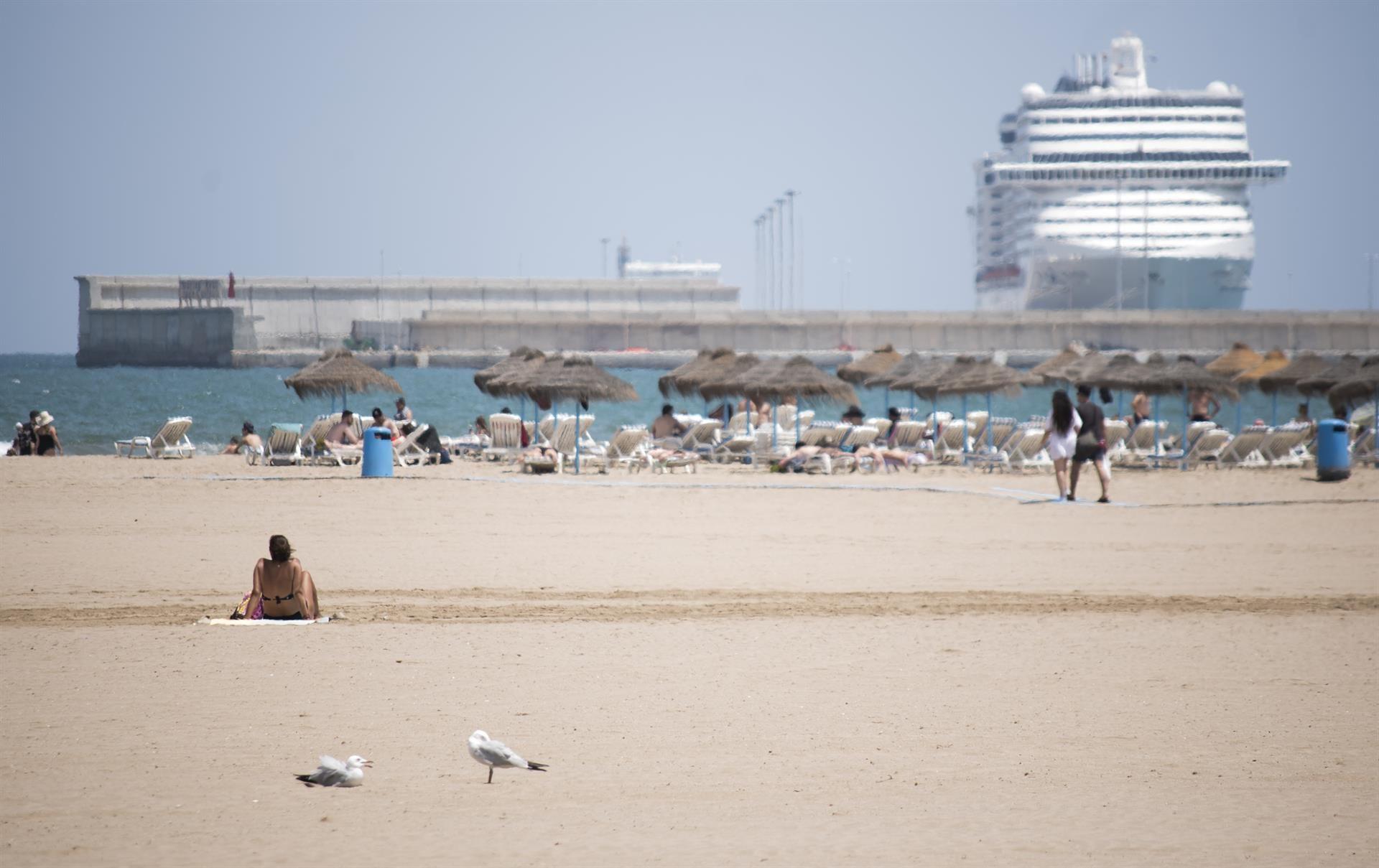 Playa de la Malva-rosa en València