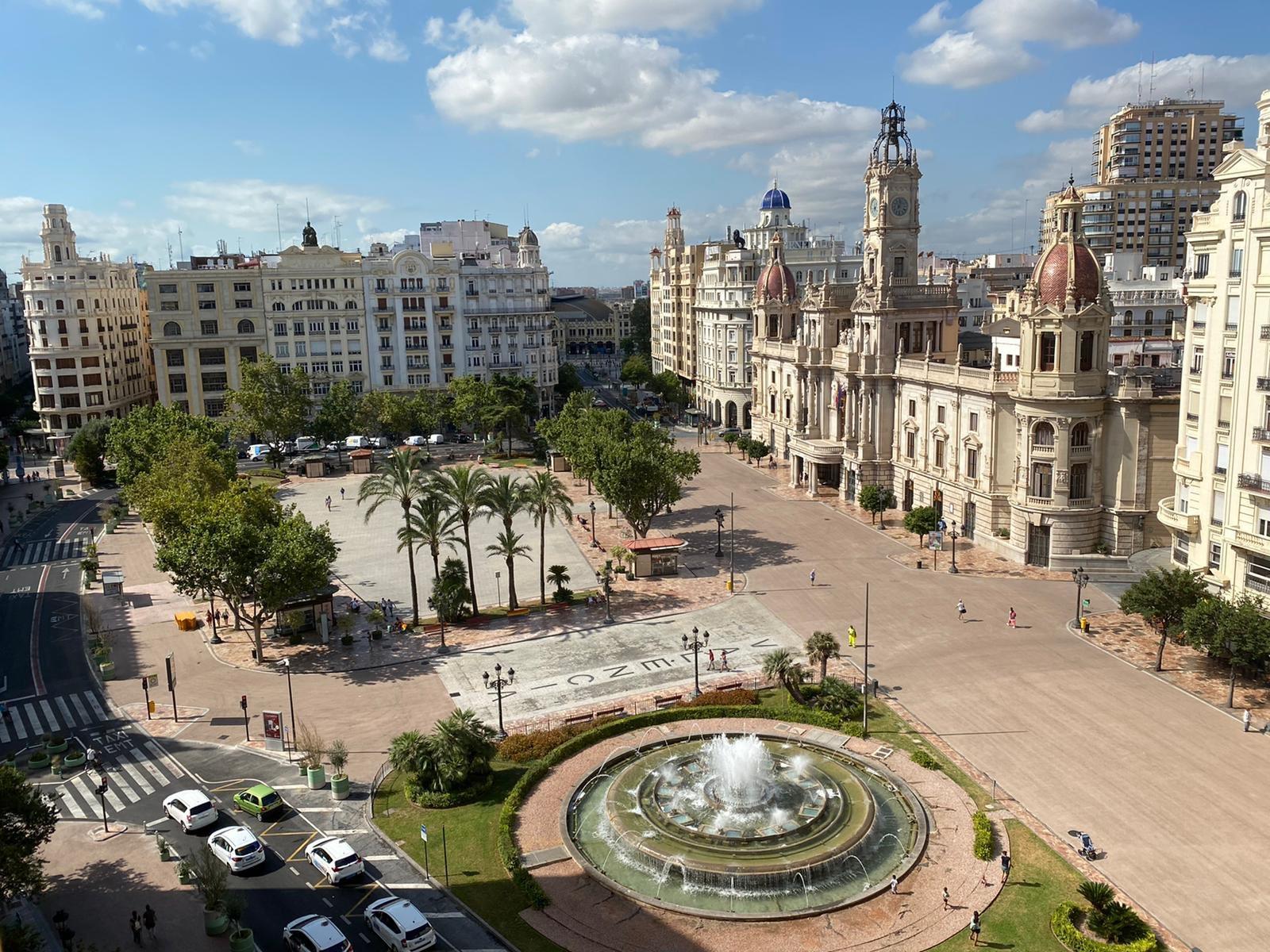 Plaza Ayuntamiento València