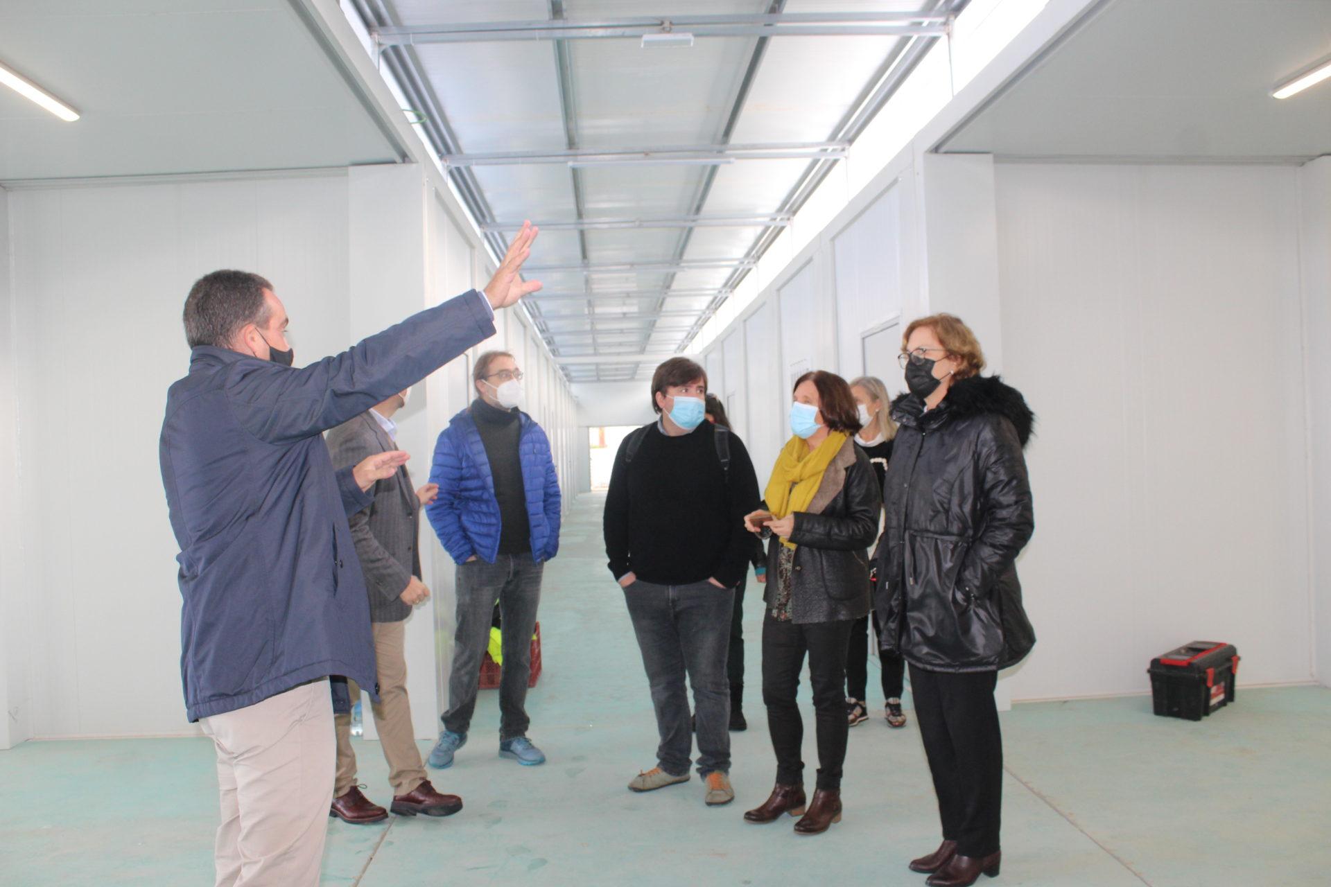 Visita IES Jaume I Borriana (edifici prefabricat)
