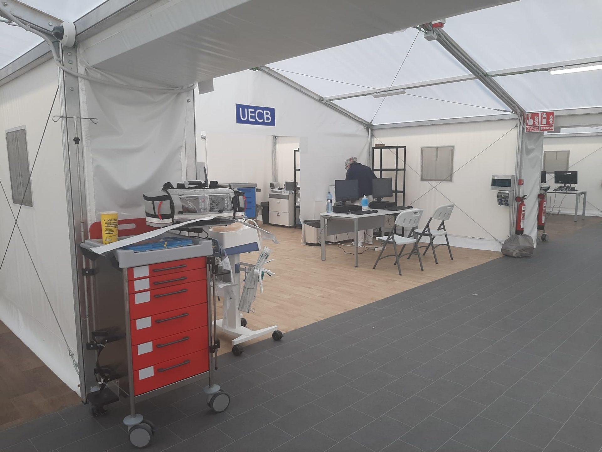 respuesta bonig hospitales de campaña