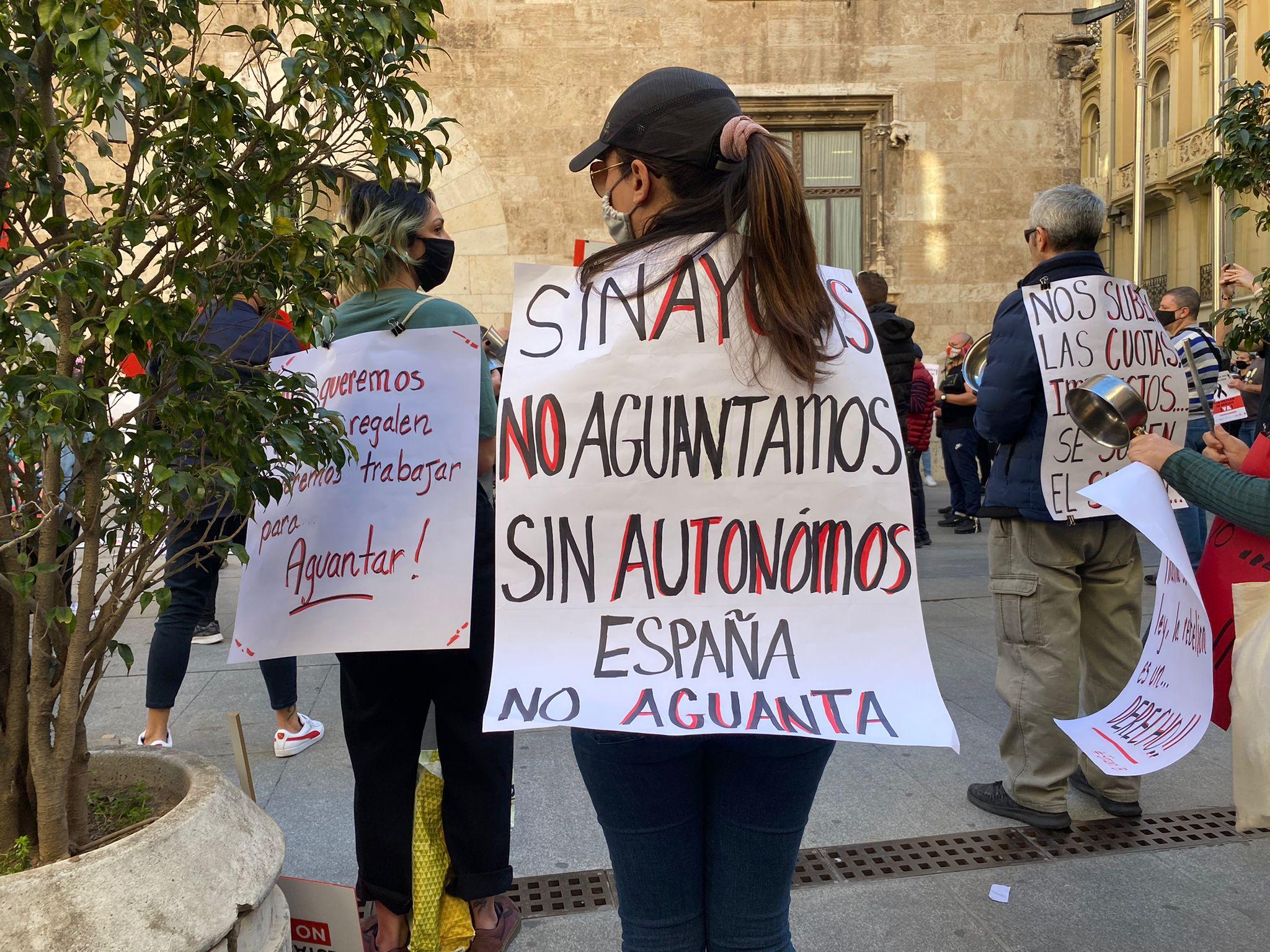 manifestacion cierre de hosteleria