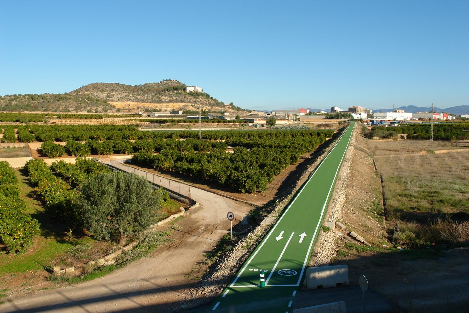 vía verde de benaguasil