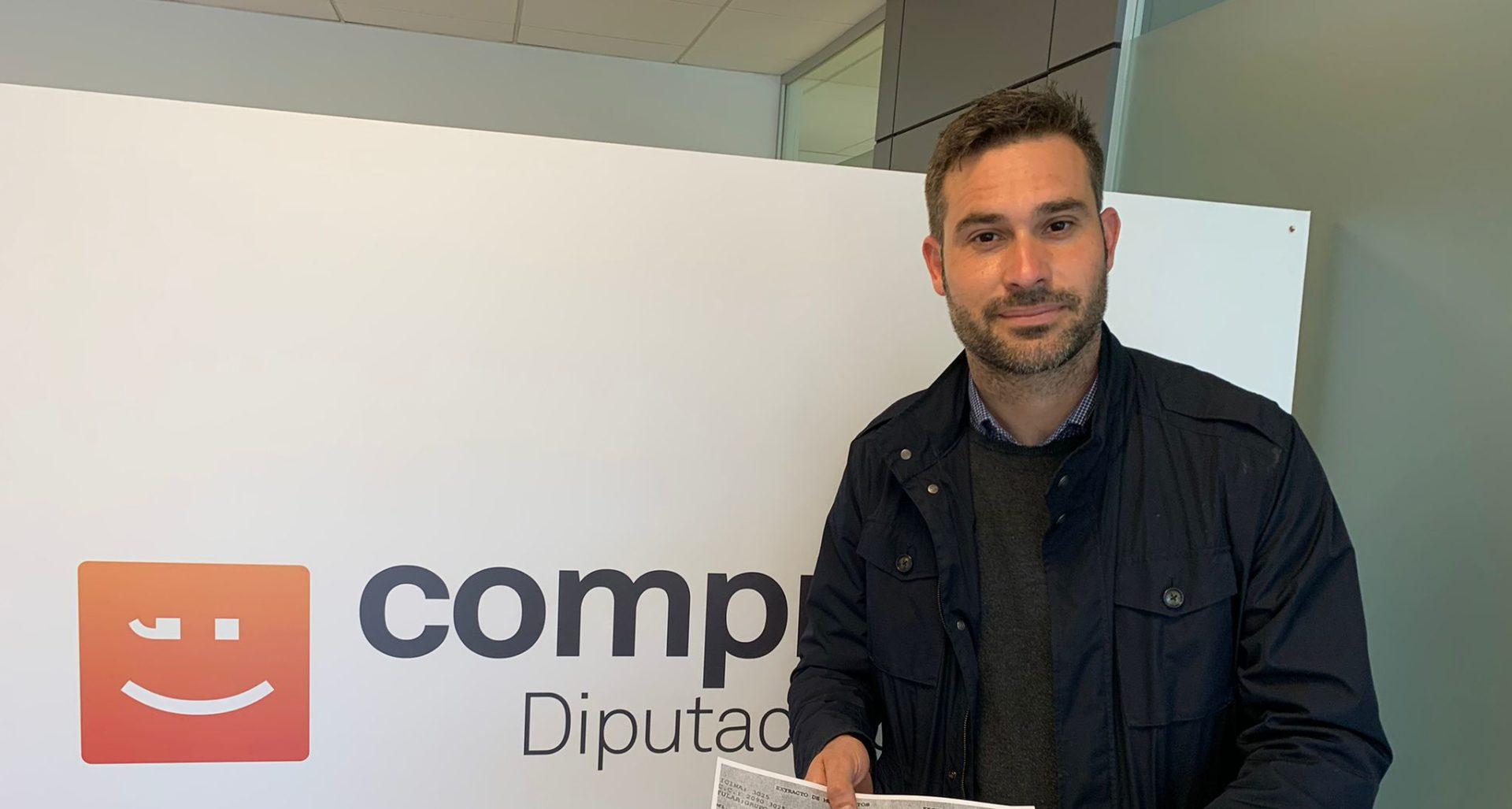Gerard Fullana, diputado por Compromís en Alicante