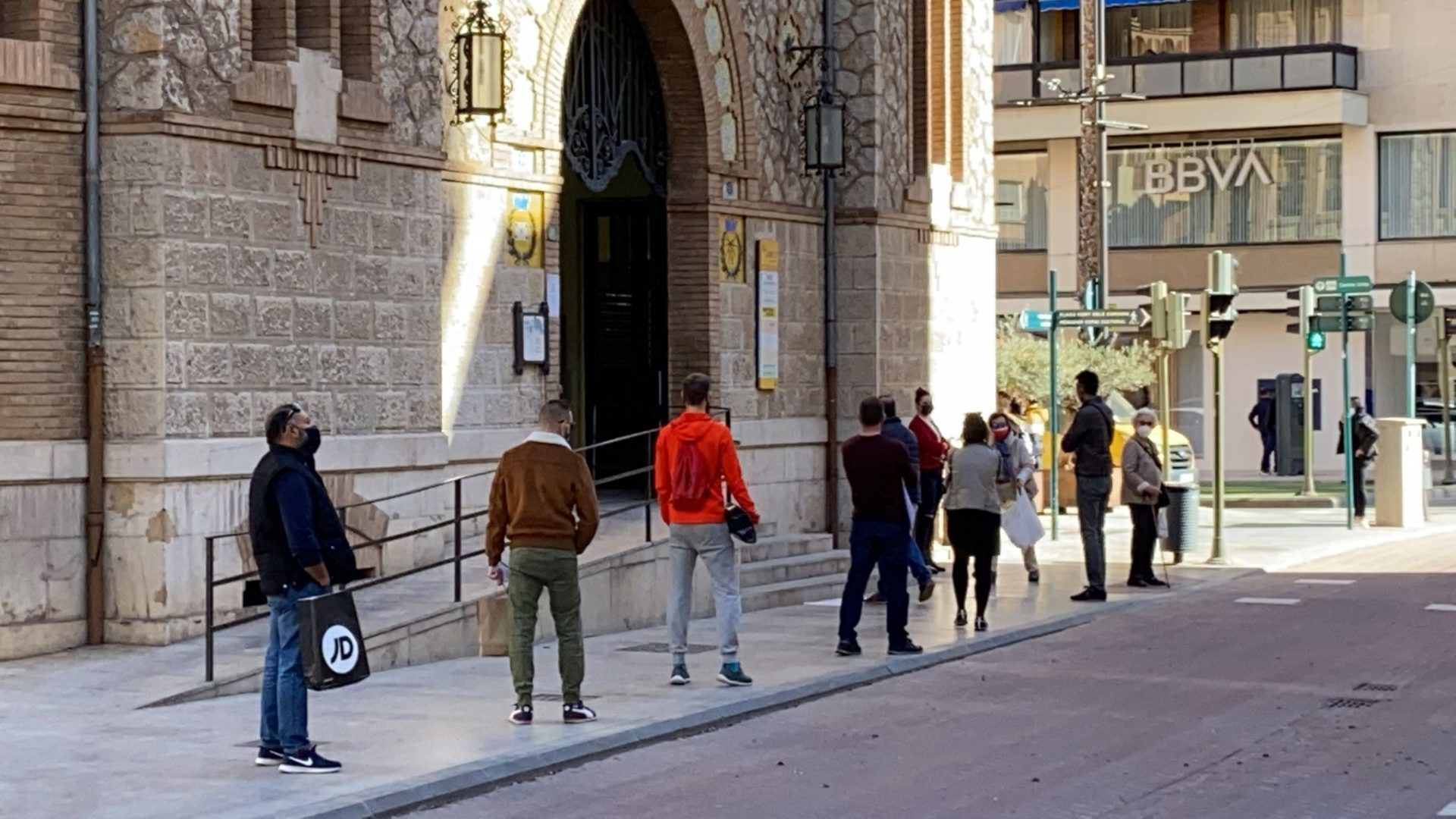 Colas Correos Castellón