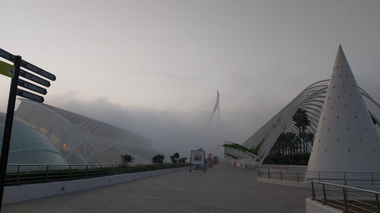 niebla en valencia