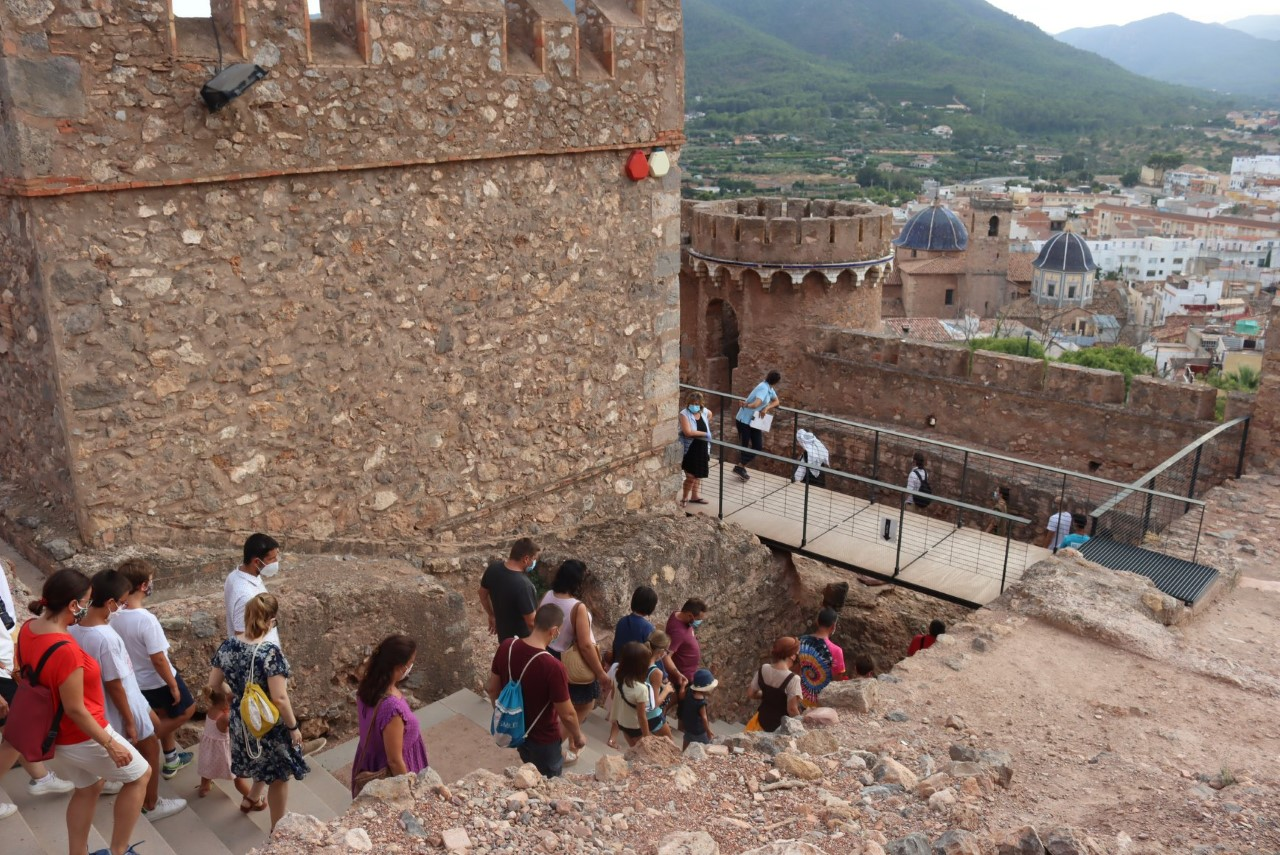 Visita al castillo de Onda