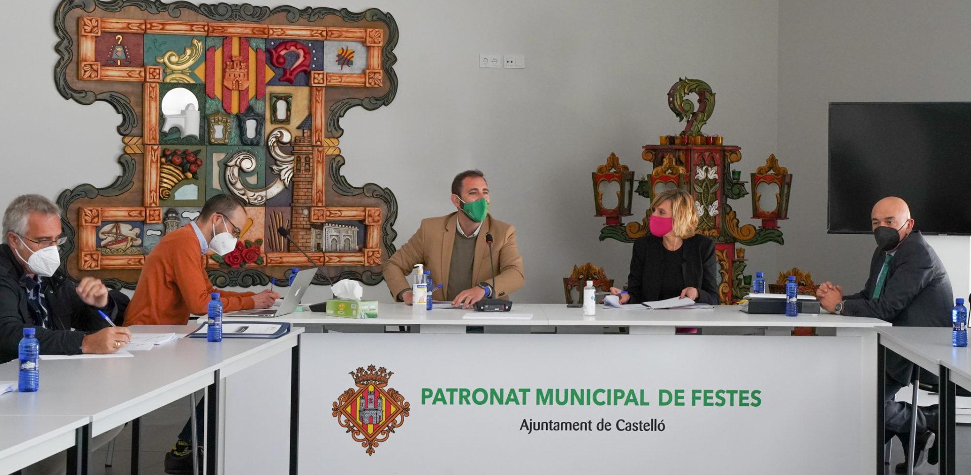 Reunión del Consejo Rector de Fiestas de Castellón
