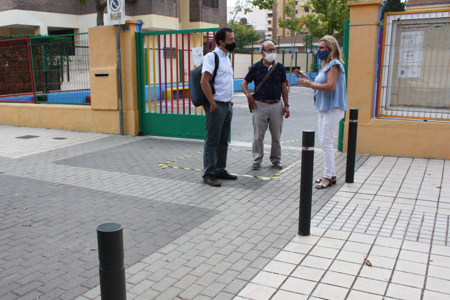 Mesquita visita CEIP Lluís Revest