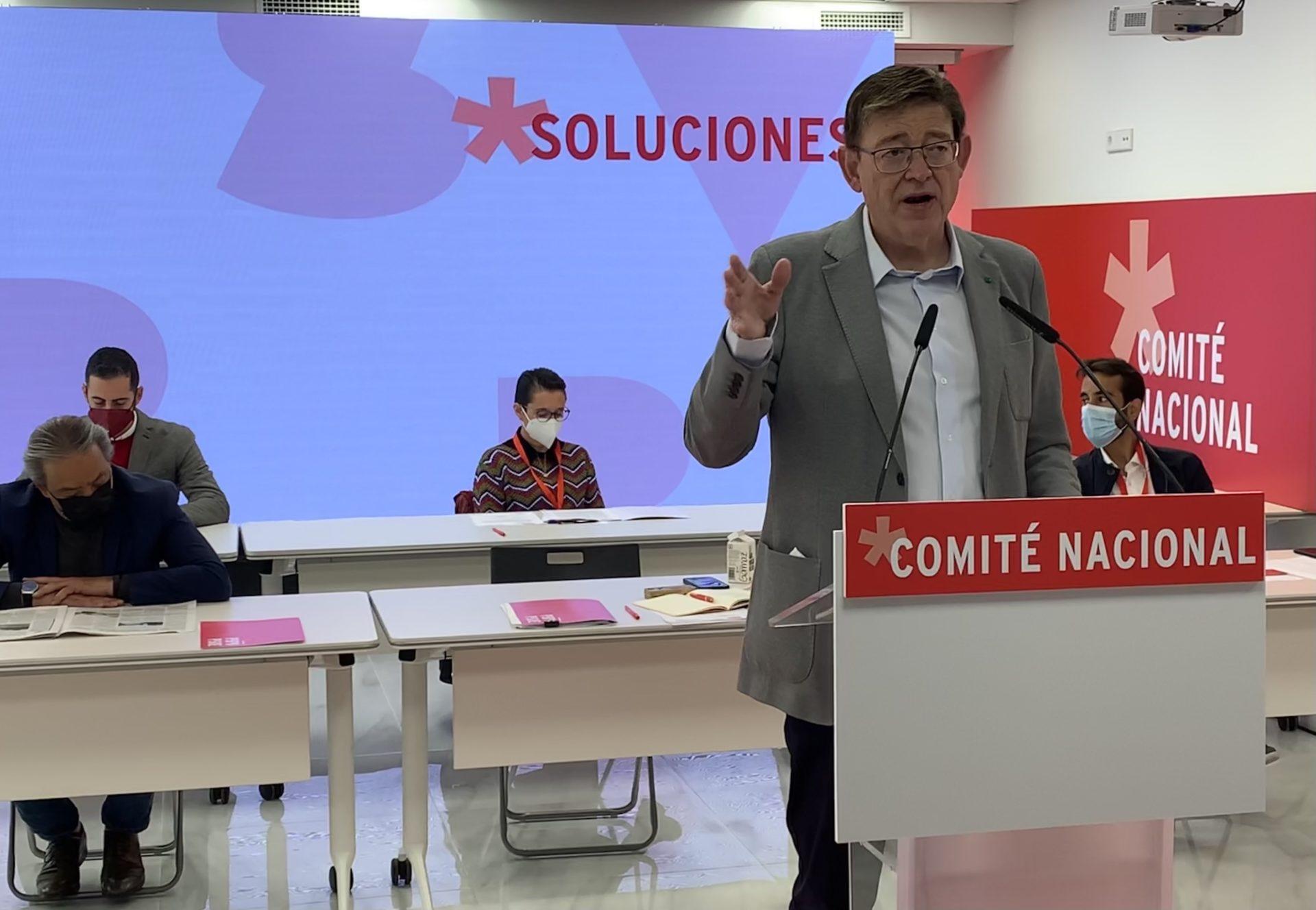 Ximo Puig Comité Nacional