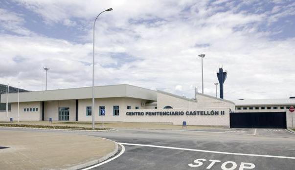 imagen del exterior del Centro Penitenciario de Castellón en Albocasser