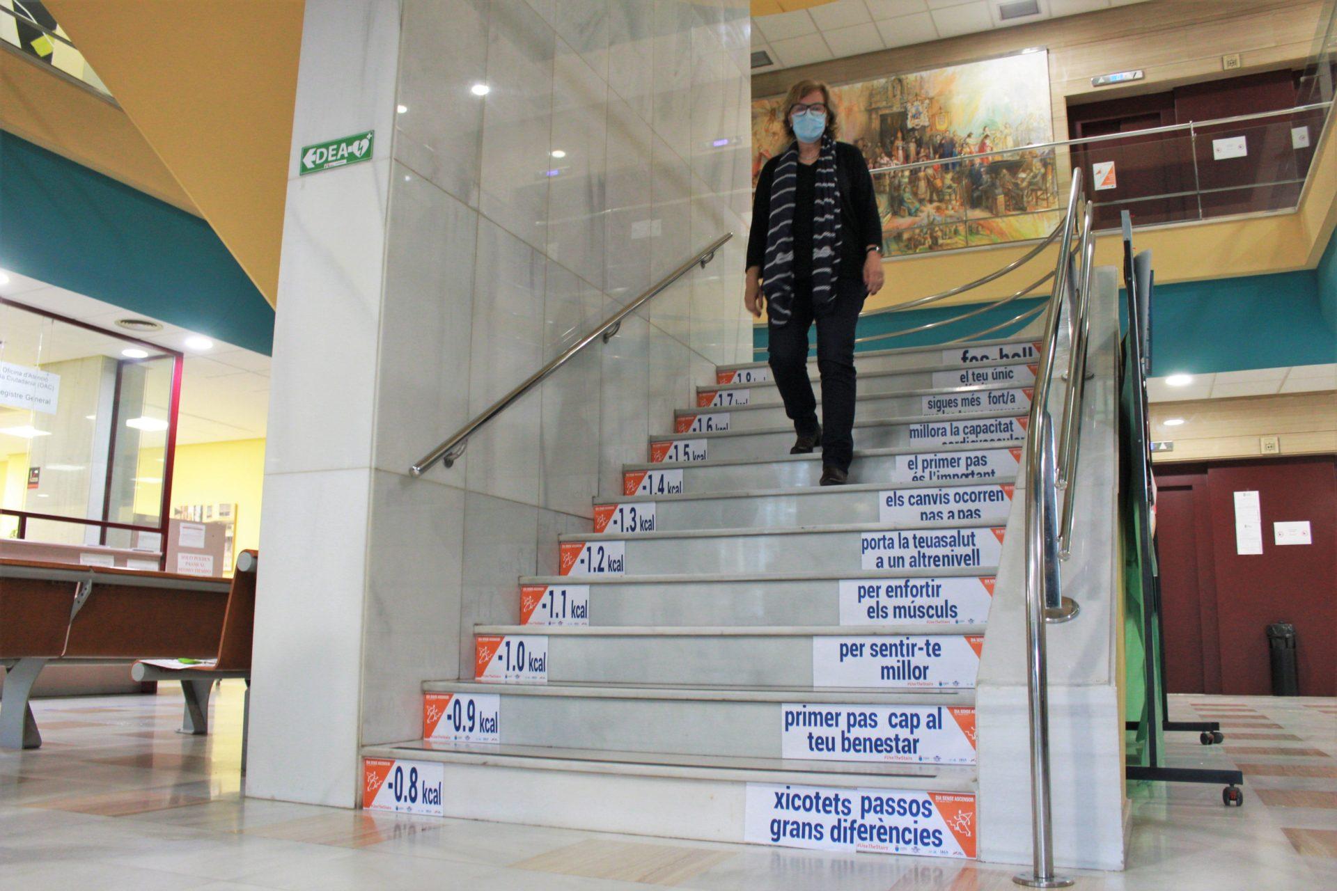 Consistorio Burriana iniciativa día sin ascensor
