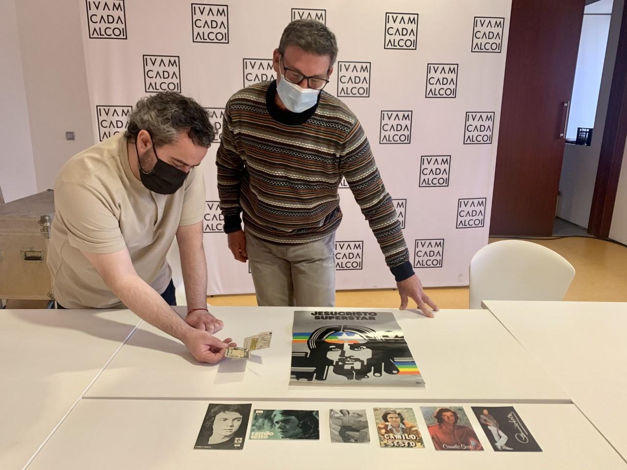 Donación objetos museo camilo sexto alcoi