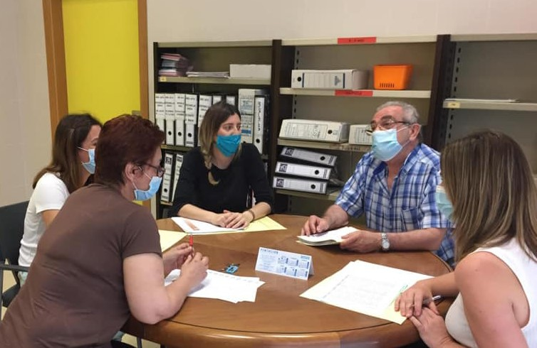 Reunión servicios sociales de Benaguasil
