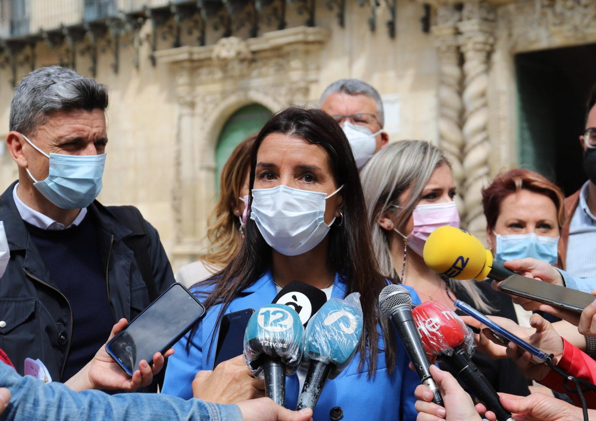 Ruth Merino, síndica de Ciudadanos en les Corts (Imagen: Cs CV)