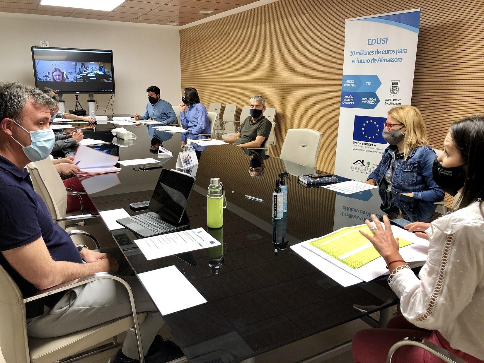 Reunión Almassora sobre los fondos FEDER
