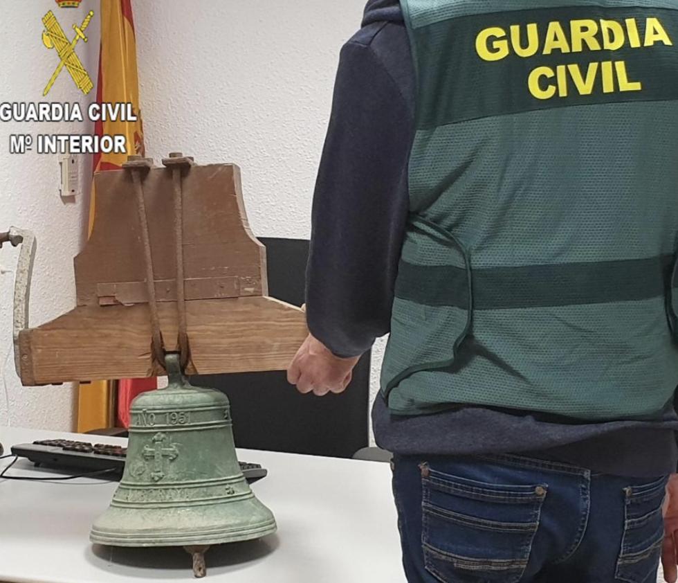 Campana robada en 1999 en Alboraya