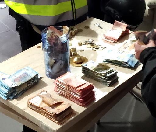 Material incautado policía