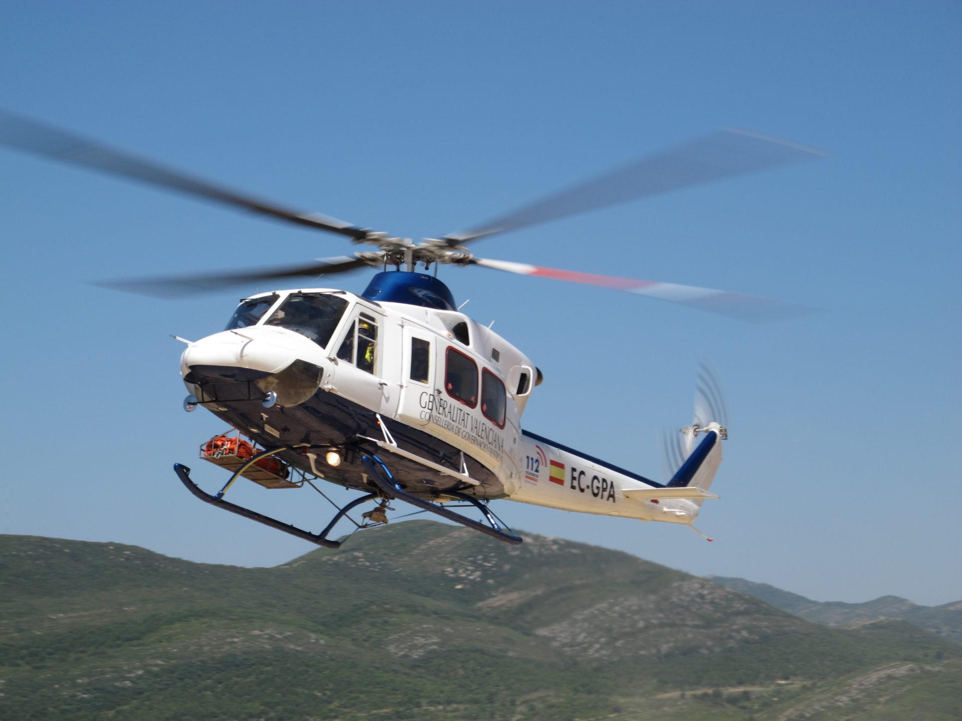 Helicóptero Generalitat