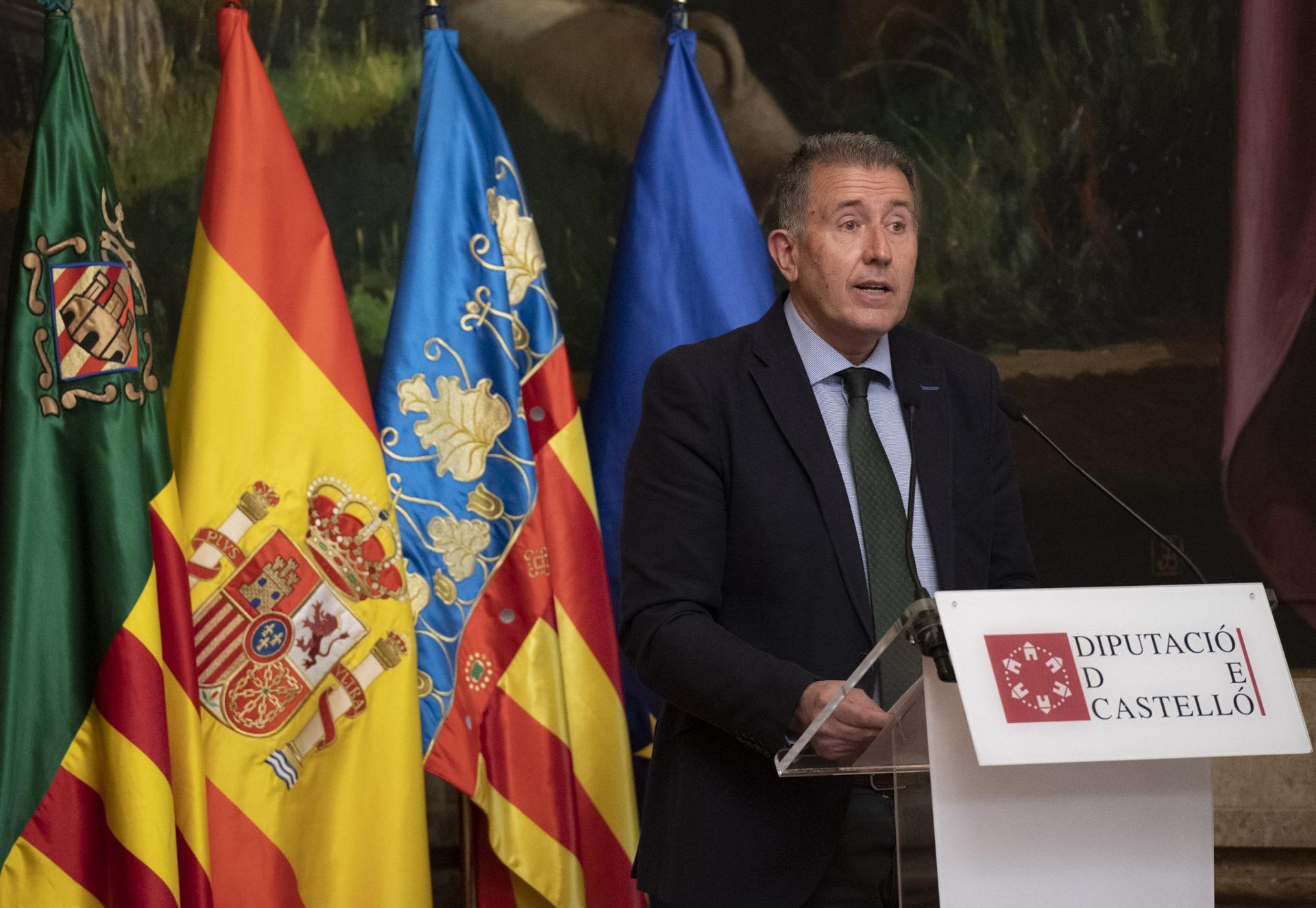Vicent Sales, portavoz del PP en la Diputación Provincial