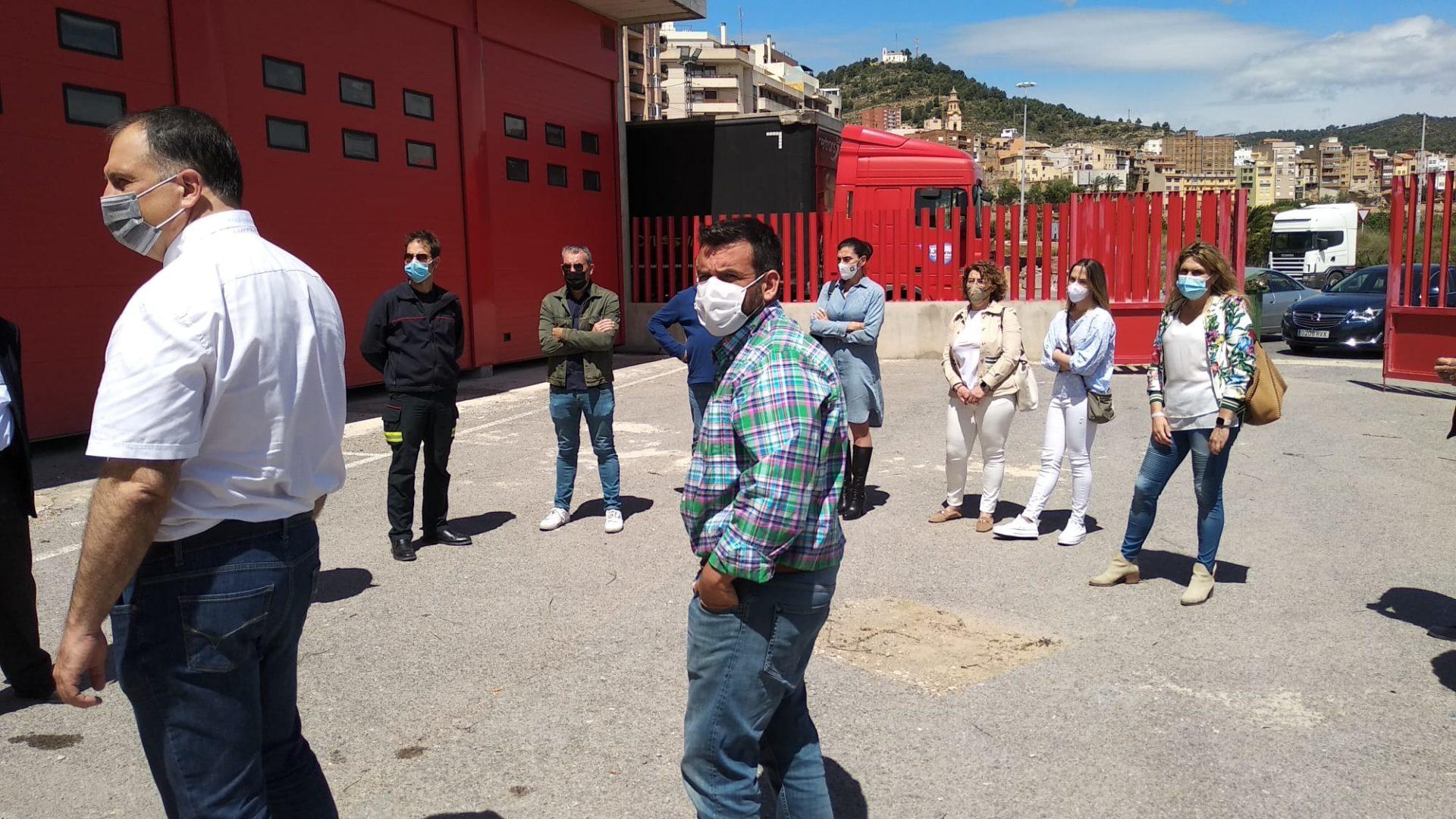 Visita del PP a las instalaciones Protección Civil l'Alcora