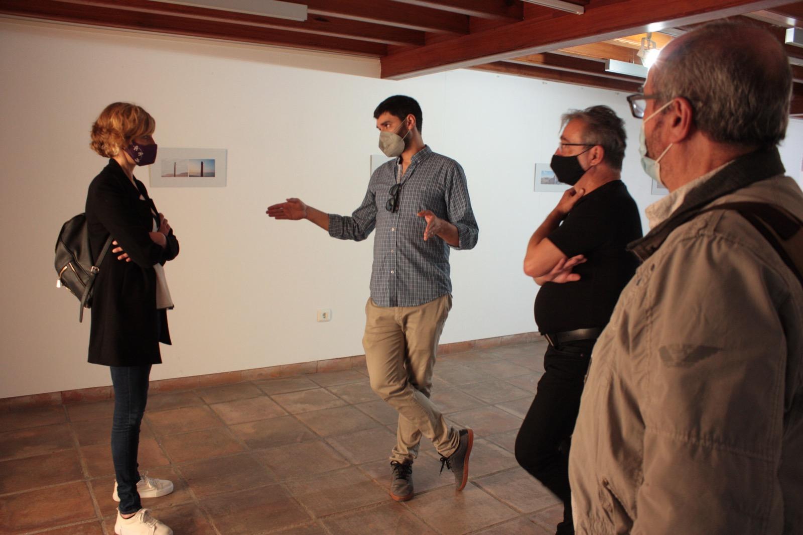 Visita de la regidora de Cultura al al Museo Etnológico