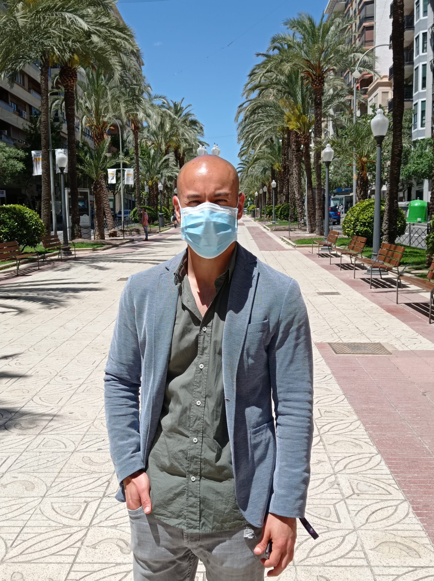 Xavier López, portavoz Unidas Podemos Alicante