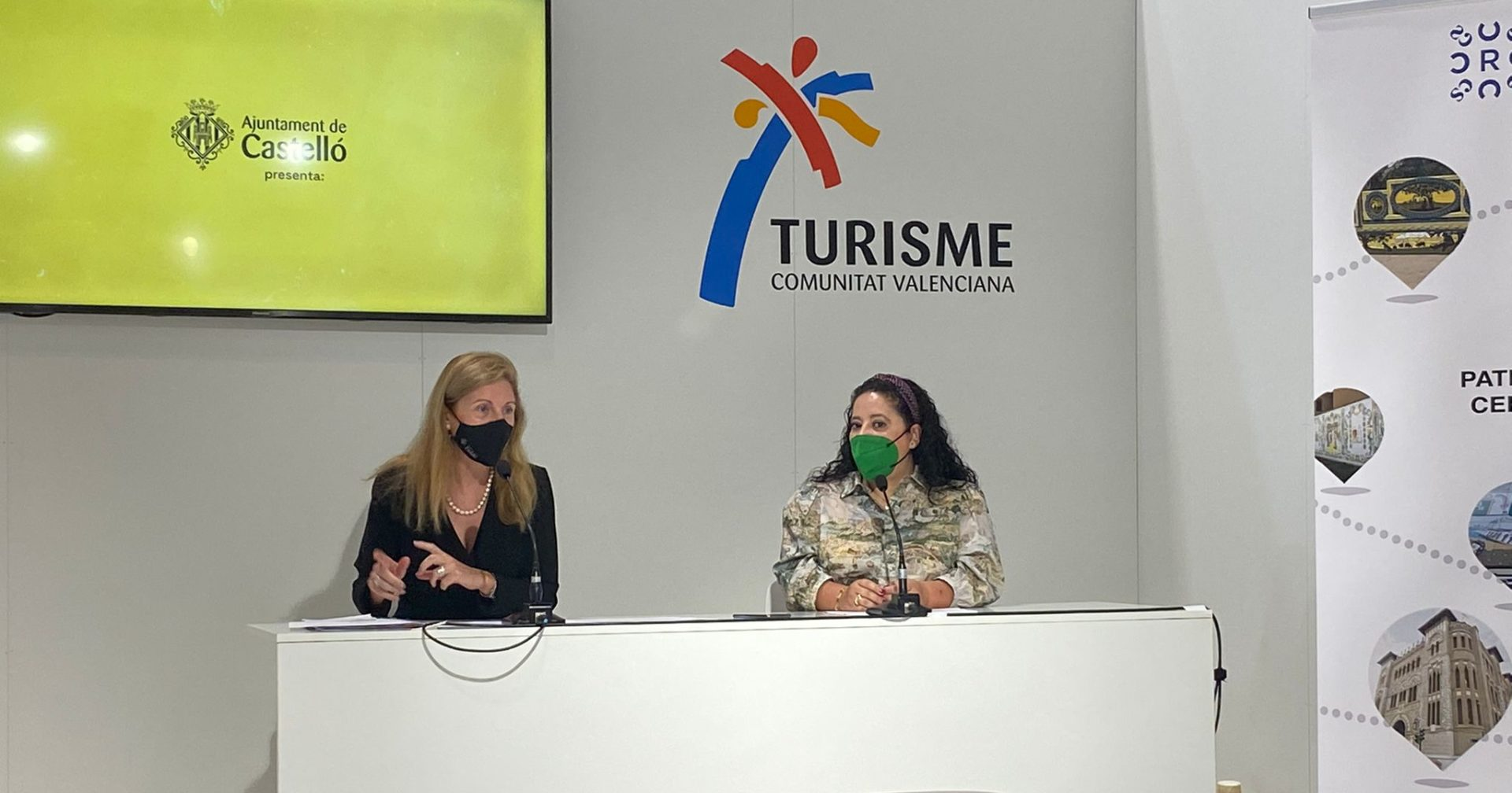 Amparo Marco y Pilar Escuder