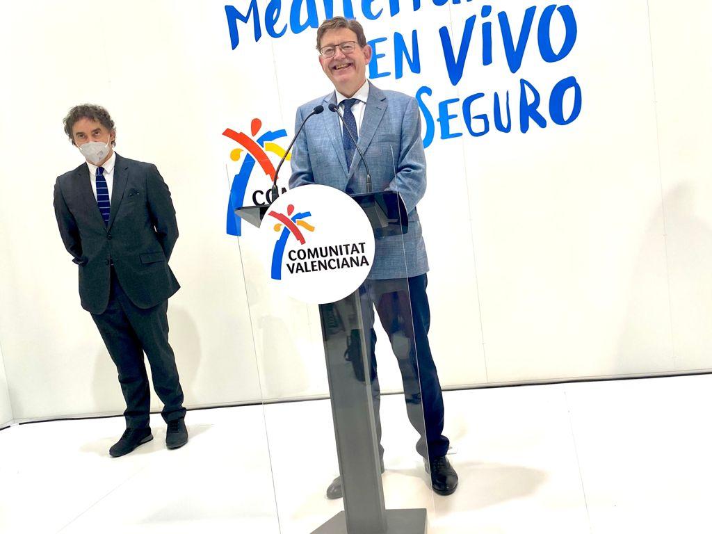 Ximo Puig en FITUR
