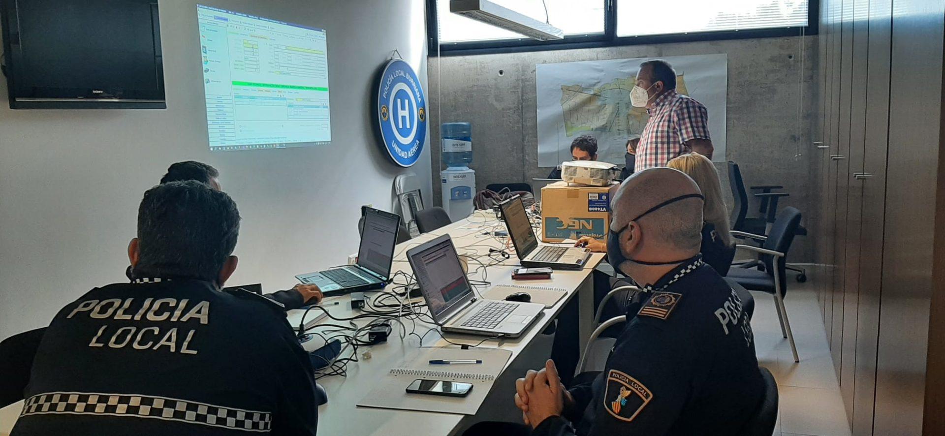 Curso formación gestión | Imagen Policía Local Burriana