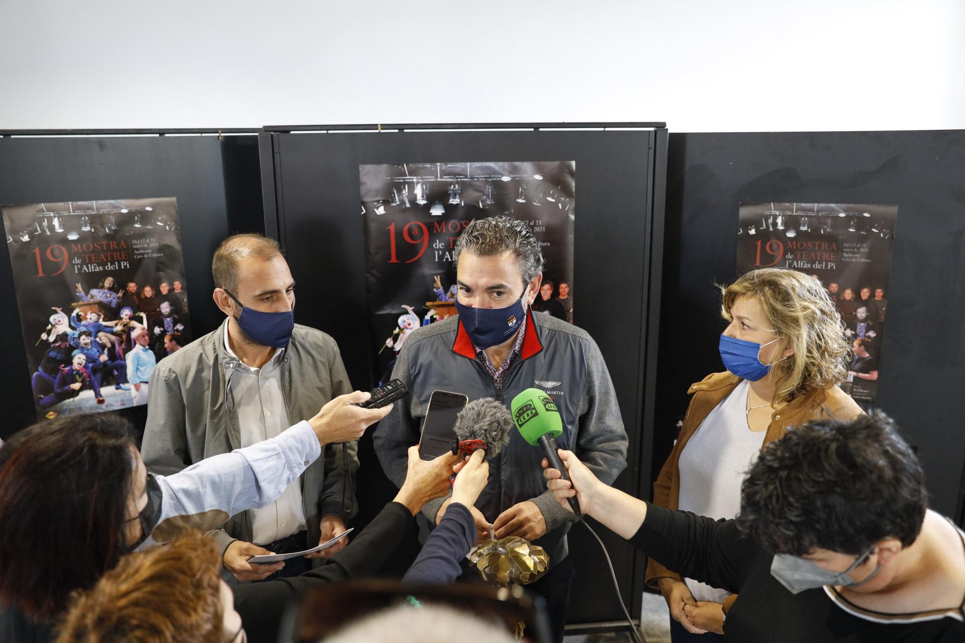 Presentación Mostra de Teatr l'Alfàs del Pi 2021