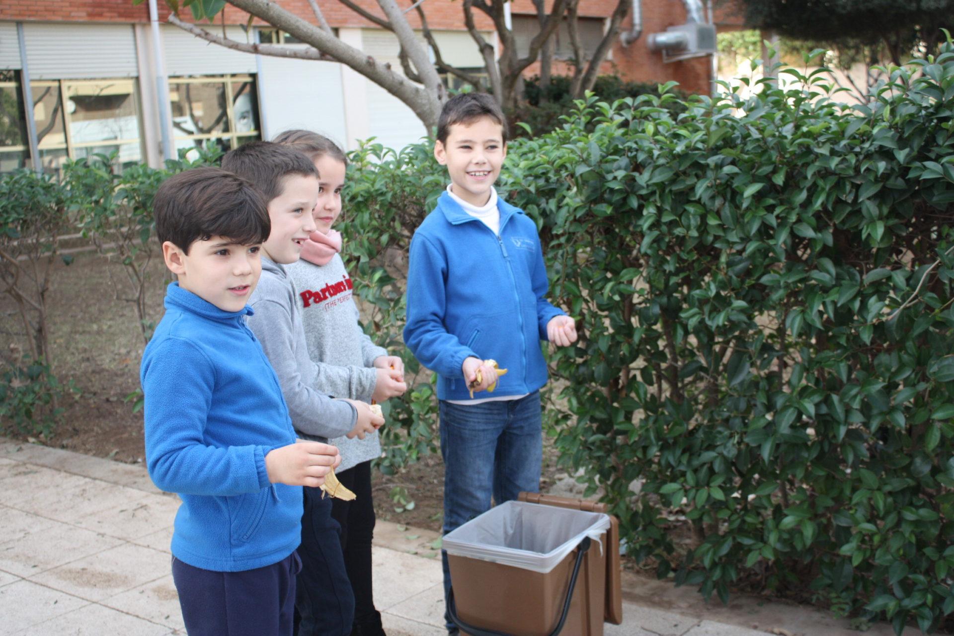 Campanya escolar reciclatge brossa orgànica