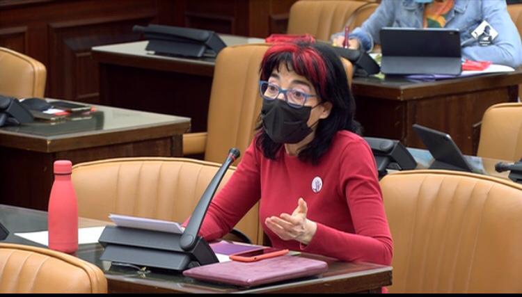 Marisa Saavedra, diputada de Castelló por Unidas Podemos
