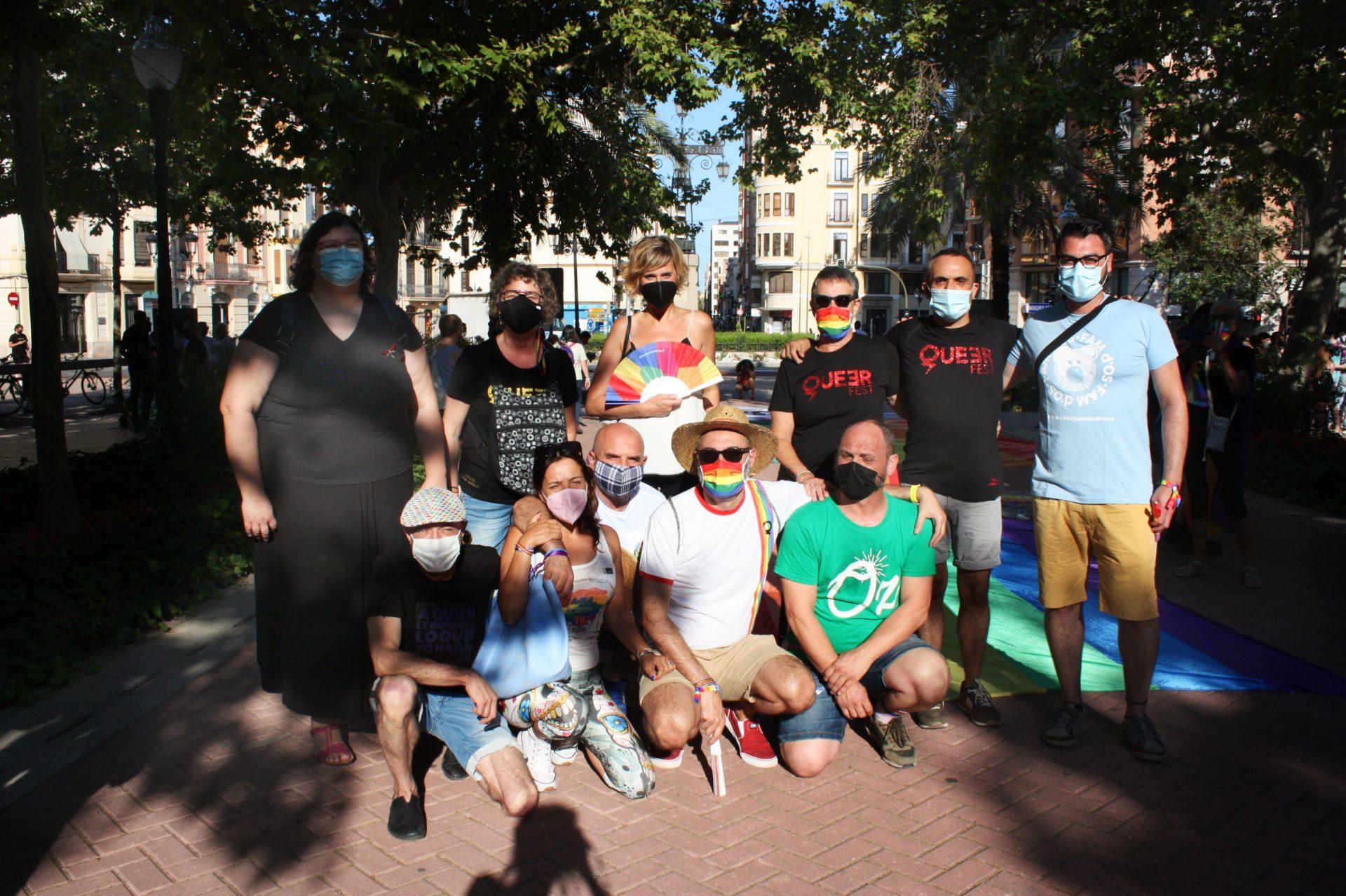 Manifestación Castelló LGTBIQ+