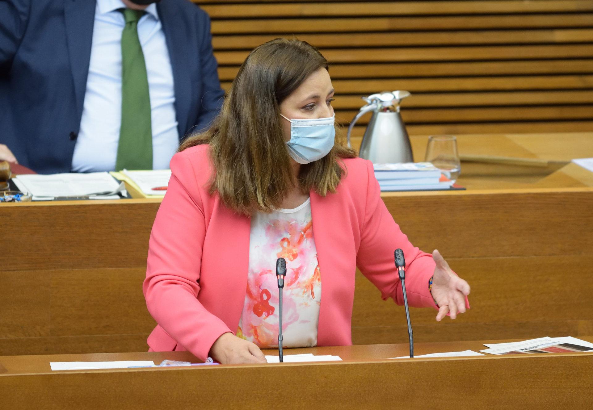 La diputada del Partido Popular en Les Corts, Marisa Mezquita