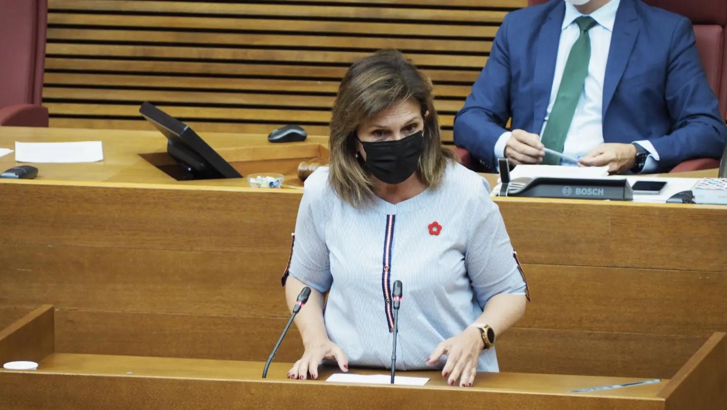 Carmen Martinez, Portaveu Adjunta Grup Socialista Corts Valencianes