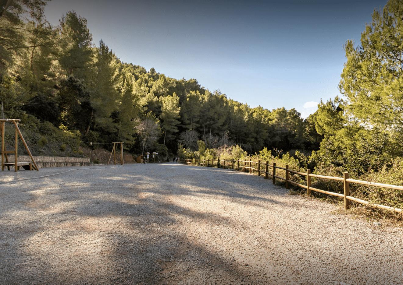 Paraje de la Font de Sant Vicent, en Traiguera