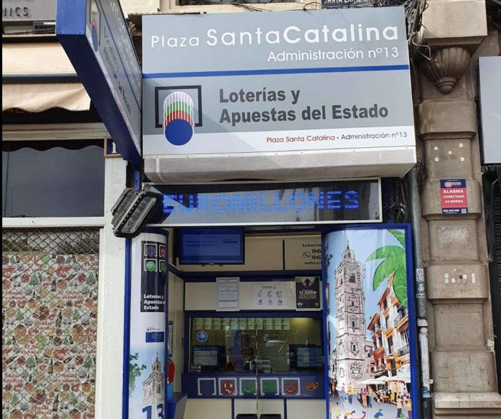 Administración de Loterías Nº13 València