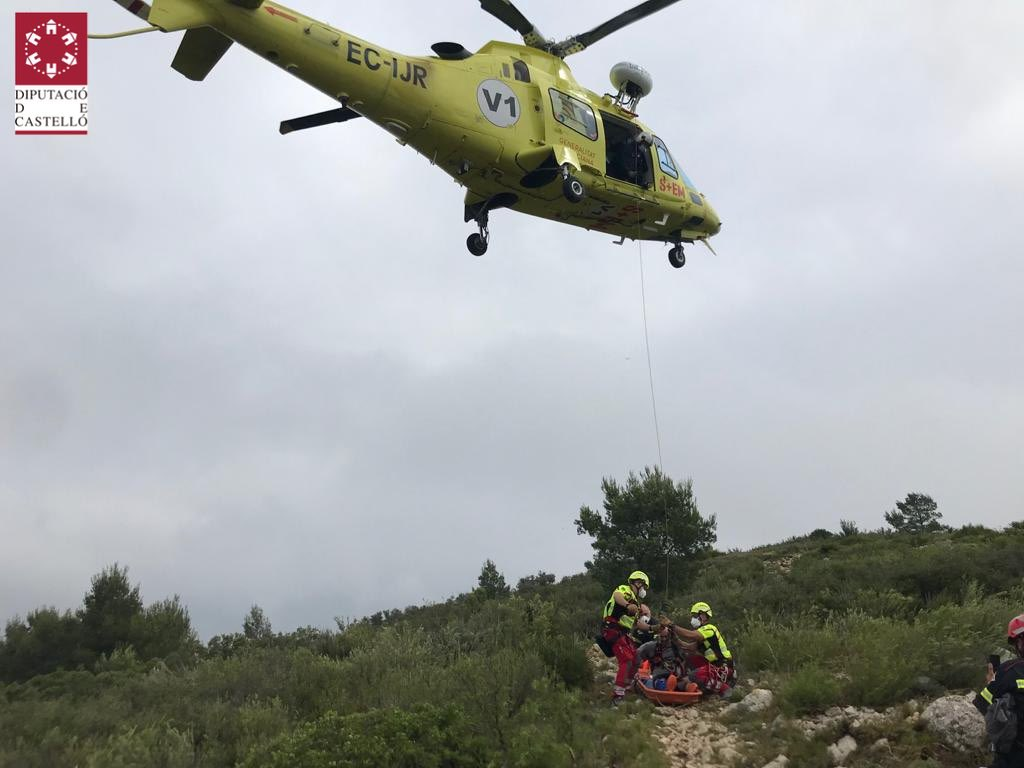Rescate zona Pico Campanilles en Alcalà de Xivert