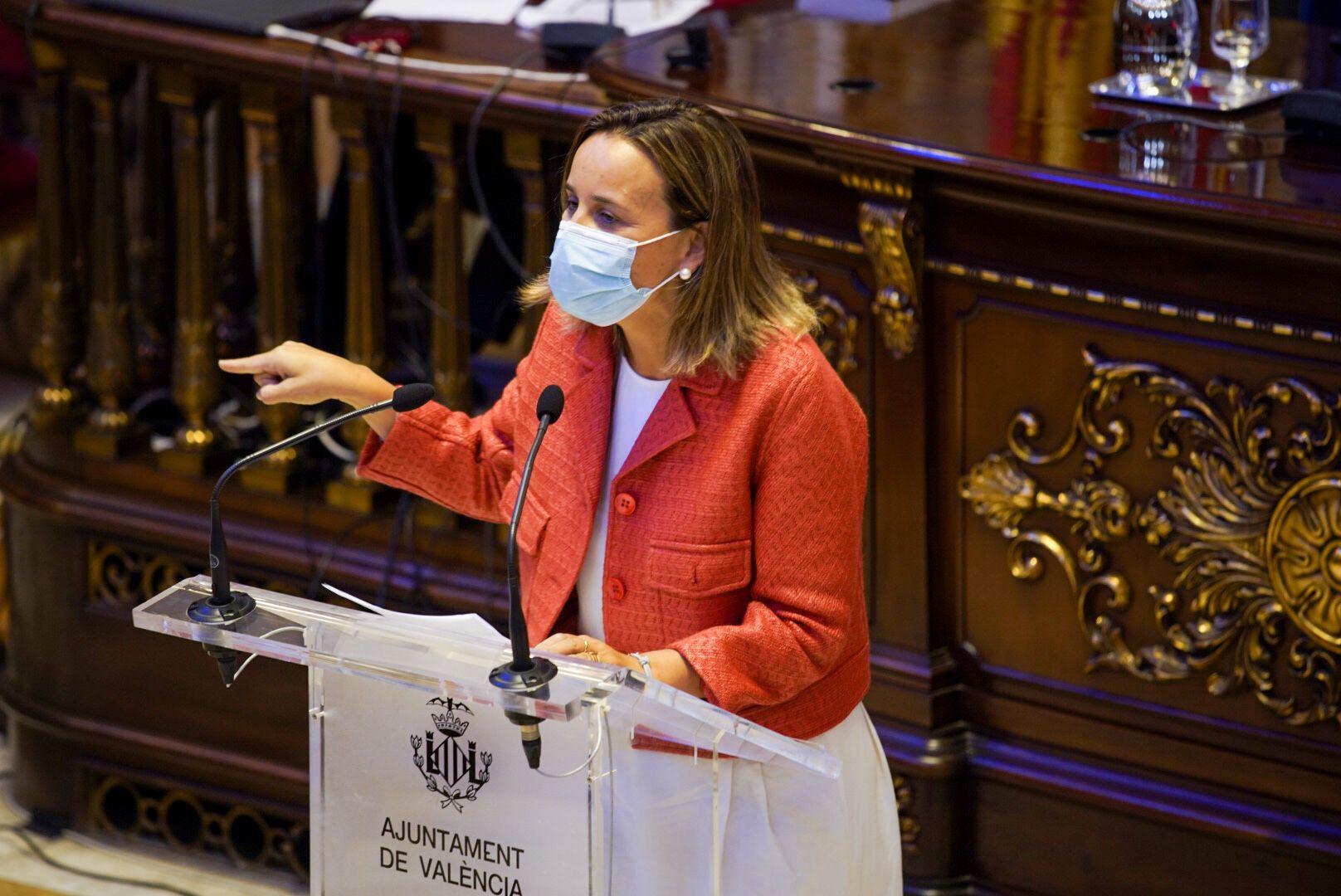 La concejal del Grupo Municipal Popular, Paula Llobet,