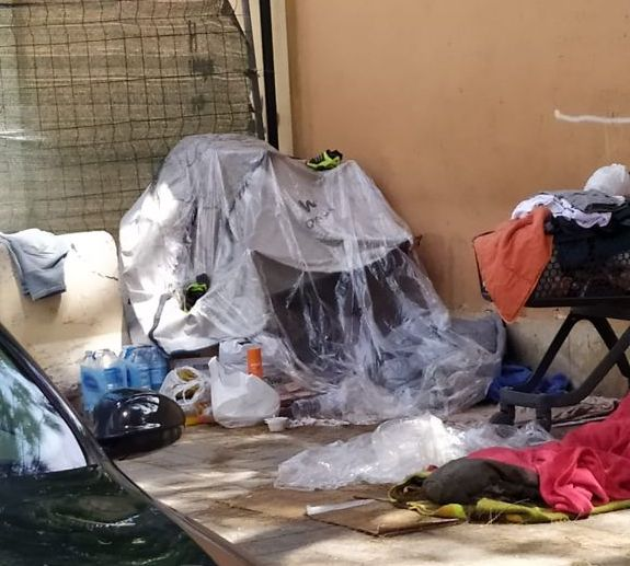 Asentamiento persona sin hogar