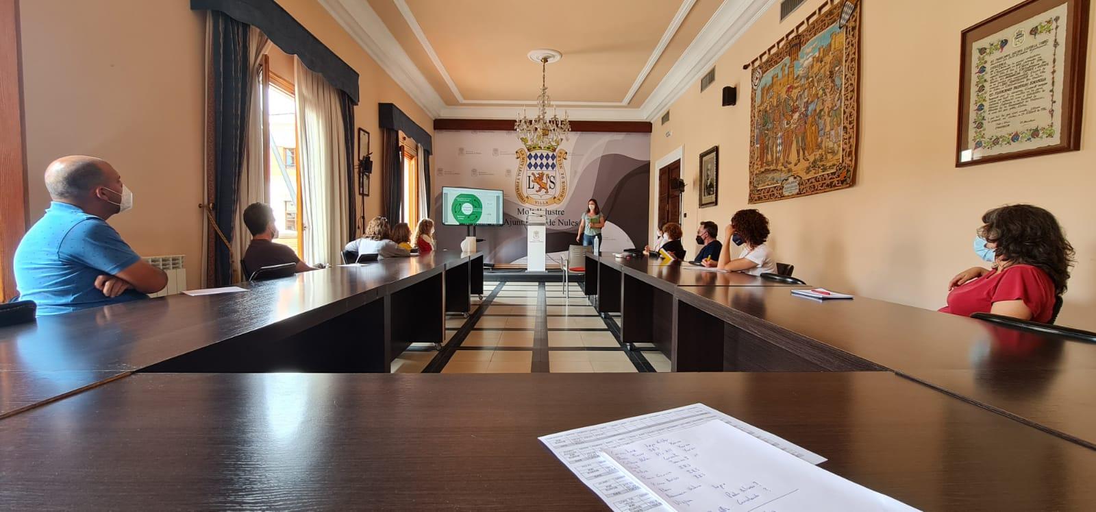 Reunión Consejo Mediambiental Educativo local