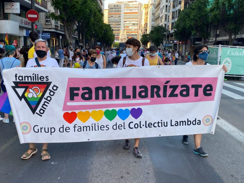 manifestacion orgullo valencia