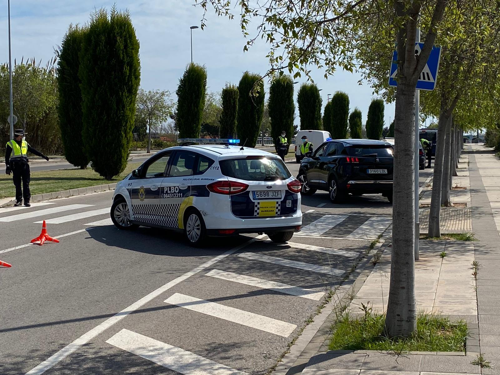 Control policial Burriana