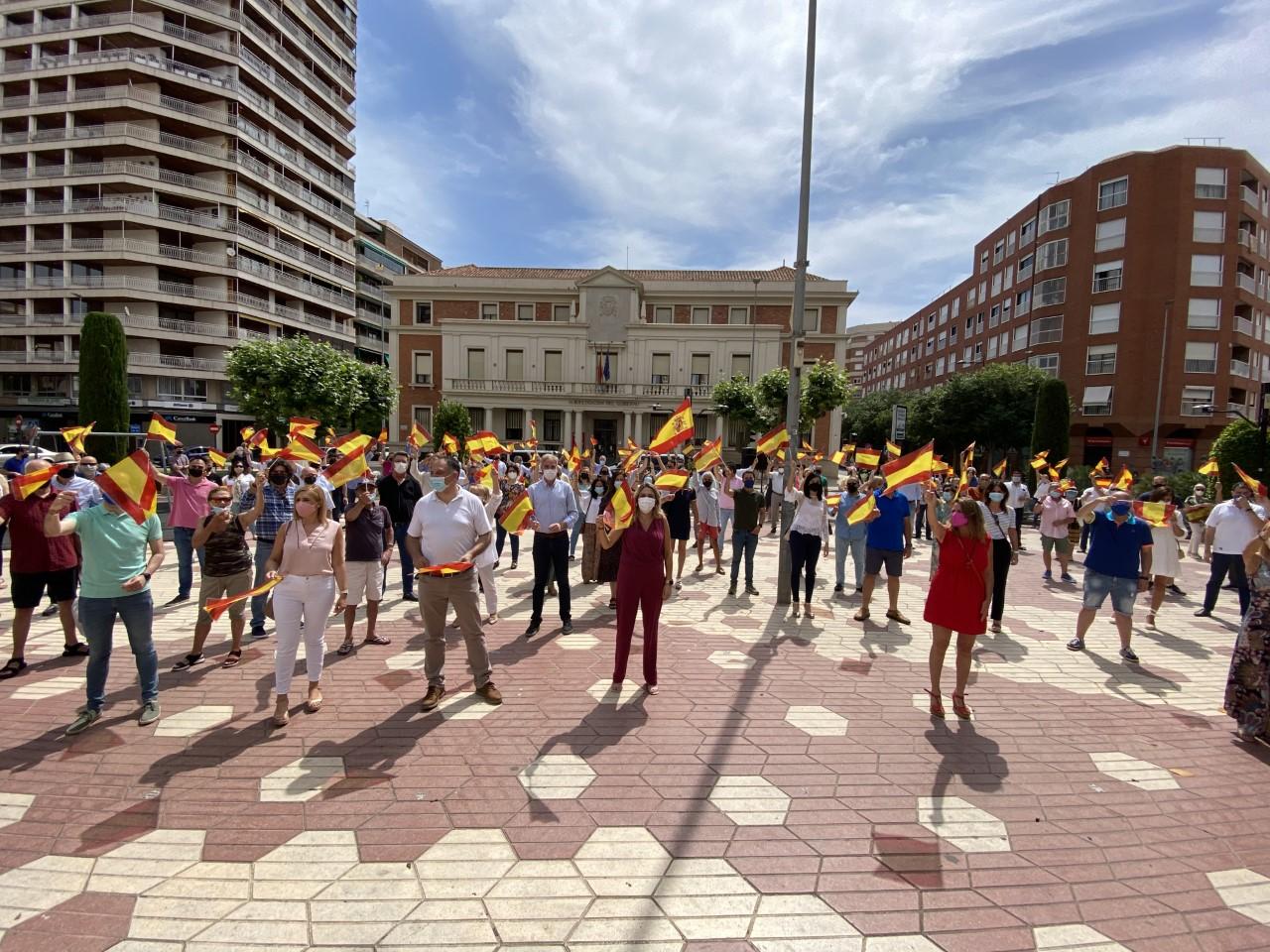 Concentración en Castellón en contra de los indultos del 'procés'
