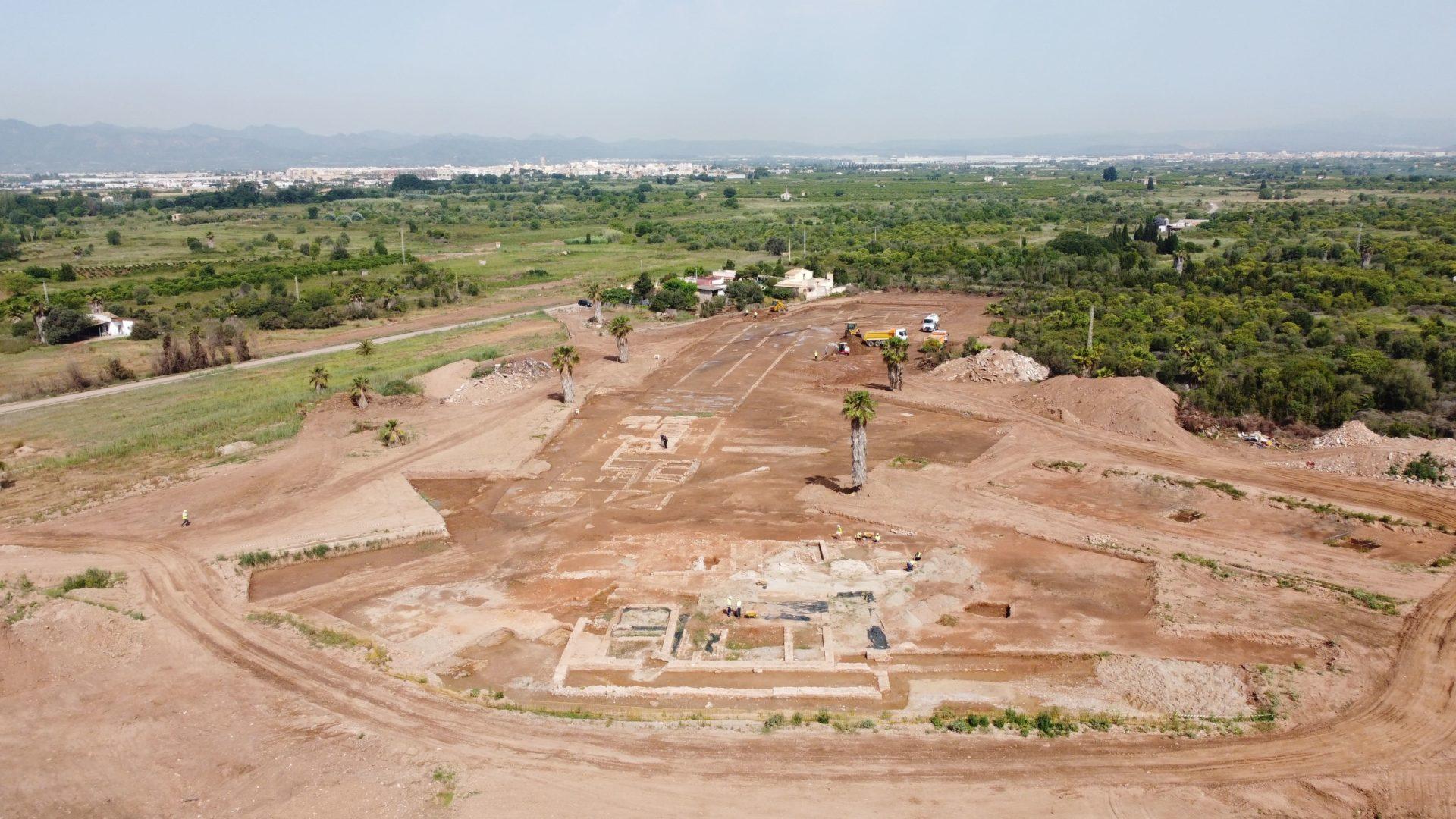yacimiento arqueológico de la villa romana de Sant Gregori